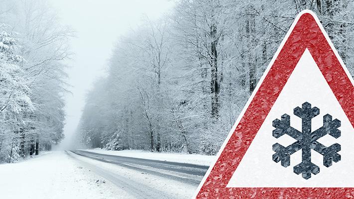 Consejos para conducir en autopistas con nieve de manera segura