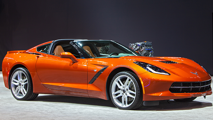 Corvette naranja