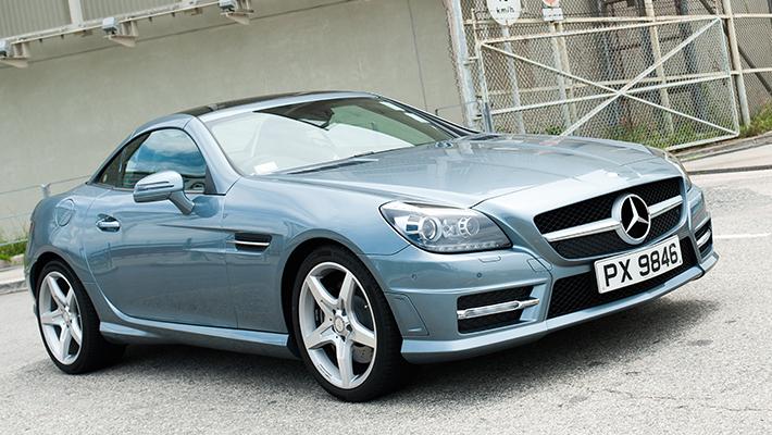 Mercedes SLK Celeste