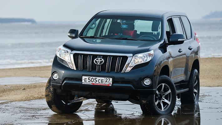 Toyota Land Cruiser Negro